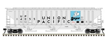 Pre-order for Atlas O (trainman) UP (sugar)   PS4750 Covered Hopper car