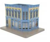MTH O gauge Ben Dover Proctologist 2 story corner building
