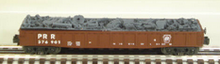 MTH Railking PRR Gondola, with junk load, 3 rail