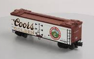 Atlas O Coors  40' wood reefer, 3 rail or 2 rail