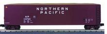 MTH Premier NP  60' woodchip Gondola w/ Load, 3 rail