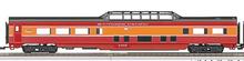MTH Railking  SP streamlined 4 car passenger set, 3 rail