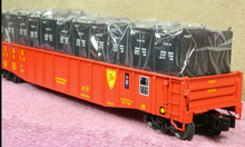 "Lionel D&H  PS-5  52' 6"" gondola with LCL containers , 3 rail,"