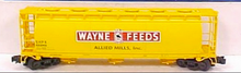 Atlas O Wayne Feeds Cylindrical Cov Hopper, 3 rail  or 2 rail