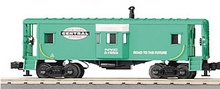 MTH Rail King NYC (green) Bay Window Caboose , 3 rail
