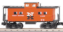 MTH Railking Scale New Haven (orange)  northeastern  style Caboose, 3 rail