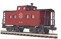 MTH Premier Western Maryland northeastern style center cupola caboose , 3 rail
