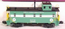 MTH Premier NYC offset cupola Satety  caboose , 3 rail