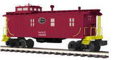MTH Premier NYC 35' woodside (low clearance) caboose , 3 rail