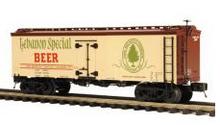 MTH Premier Lebanon Special  Beer 36' wood reefer, 3 rail