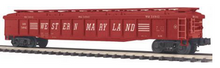MTH Premier Western MAryland Gondola w/ Removable Cover, 3 rail