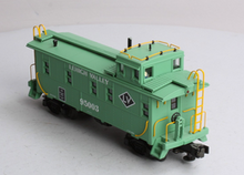 MTH Premier Lehigh Valley rivited steel offset cupola Caboose , 3 rail