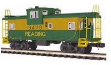 MTH Premier Reading Extended Vision Caboose , 3 rail