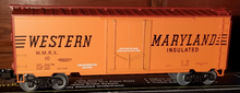 Copy of Weaver WM 40' plug  door box car, 3 rail or 2 rail