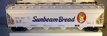 Weaver Sunbeam 50' centerflow covered hopper, 2 or 3 rail