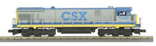 MTH Railking Scale CSX C30-7 diesel, 3 rail, non-powered