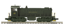 MTH Premier Reading Alco S-2 diesel switcher, 3 rail, non-powered