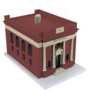 MTH O gauge City National Bank Building
