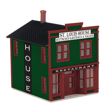 MTH O gauge St Louis House storefront  Building