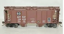 Lionel Santa Fe  34'  PS-2  covered hopper car, 3 rail