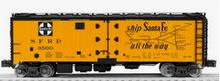 Lionel Santa Fe   40'  Steel reefer,  3 rail