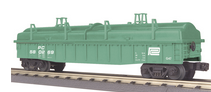MTH Railking Penn Central Gondola with cover, 3 rail