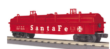 MTH Railking Santa FeGondola with cover, 3 rail