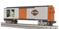 MTH Railking Harley Davidson Box Car, 3 rail