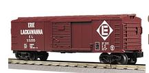 MTH Railking EL Box Car, 3 rail