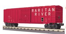 MTH Rail King Raritan River 50' Modern Box Car, 3 rail