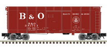 Pre-Order for Atlas O B&O (large B&O, double circle)  40' wagon top box  car