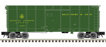 Pre-Order for Atlas O B&O (Green, REA)  40' wagon top box  car