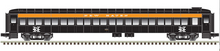 Pre-order for Atlas O 80' NH Black Knight  Pullman-Bradley coach Car, 3 rail or 2 rail