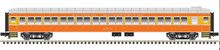 Pre-order for Atlas O 80' SSW (daylight colors) Pullman-Bradley coach Car, 3 rail or 2 rail
