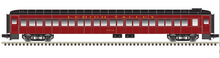 Pre-order for Atlas O 80' LV (Cornell Red) Pullman-Bradley coach Car, 3 rail or 2 rail