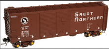 Atlas O  special run GN (tuscan, block letters) 1937 style AAR 40' steel Double Door box car, 3 rail or 2 rail