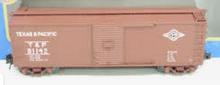 Atlas O T&P USRA steel 40' box car, 3 rail or 2 rail