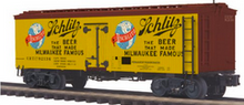 Pre-order for MTH Premier Schlitz Beer 36' wood reefer, 3 rail