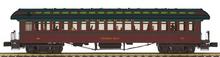 Pre-order for MTH Premier Strasburg RR   1890's style wood 64' passenger coach, 3 rail