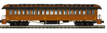 Pre-order for MTH Premier Empire State Express (NYC)  3  car 1890's style wood 64' passenger coach set, 3 rail