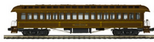 Pre-order for MTH Premier Central Pacific  3  car 1890's style wood 64' passenger coach set, 3 rail