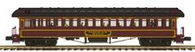 Pre-order for MTH Premier PRR  1890's style wood 64' passenger coach, 3 rail