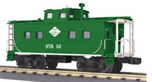 Pre-order for MTH Railking scale New York & Atlantic  Center Cupola  Northeastern style Caboose, 3 rail