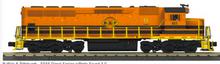 Pre-order for MTH Railking Scale  Buffalo & Pittsburgh  SD-45, 3 rail, P3.0