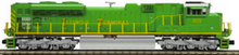 MTH Premier Illinois Terminal SD70ACe, 3 rail, P3.0