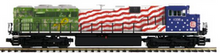 Pre-order for MTH Premier KCS (troops) SD70ACe, 3 rail, P3.0