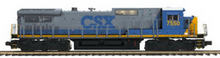 Copy of Pre-order for MTH Premier CSX  Dash-8-40C , 3 rail, P3.0