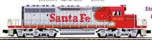 Pre-order for MTH Premier Santa Fe (red/silver) SD-40 , 3 rail, P3.0