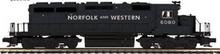 Pre-order for MTH Premier N&W (black) SD-40 , 3 rail, P3.0