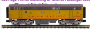 Pre-order for MTH Premier  UP  F-7B, 2 rail, non-powered
